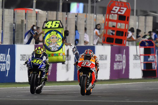 Rossi Masih Unggul Dari Marquez Jika Duel