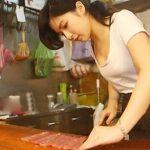 Zhang Caijie Tukang Daging Super Cantik Asal Taiwan