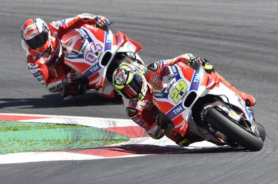 Mengherankan, Ducati Lebih Sayang Dovizioso Ketimbang Lorenzo