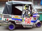 Video Kocak Valentino Rossi Balapan Pakai Bajaj