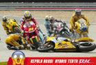 Mengerikan! Kepala Rossi & Vinales Nyaris Terlindas Saat Balapan