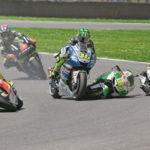 4 Rider Yang Pernah Ditabrak Jatuh Valentino Rossi
