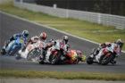 Insiden MotoGP : Lorenzo Tabrak Rossi Sampai Nyungsep