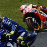 Diam-Diam Rossi Amati & Contek Gaya Balap Marquez