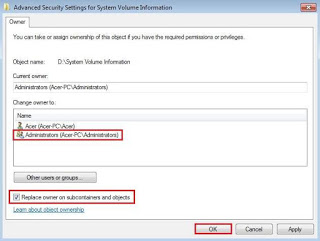 Cara Membuka File/Folder Access Denied