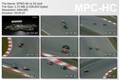 Video Heli Cam Rossi Senggol Marquez Di GP Sepang