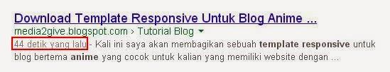 Fetch As Google Agar Artikel Cepat Terindex