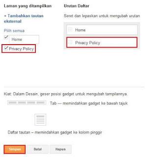 Cara Mudah Membuat Privacy Policy Di Blog