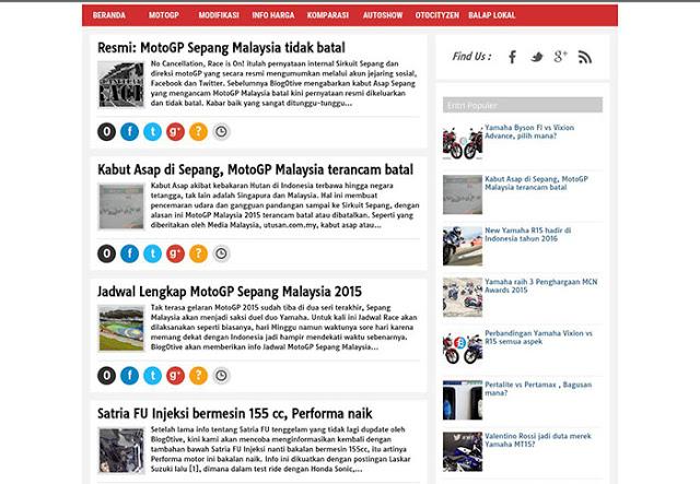 Berita MotoGP Dan Motor Baru Ada Di BlogOtive