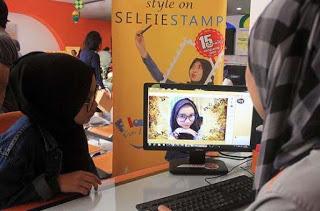 Munculnya Prangko Selfie Yang Unik