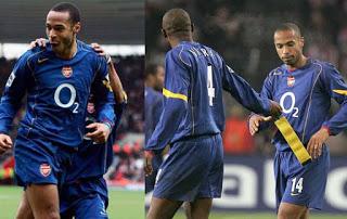 Jersey Home Dan Away Terbaik Milik Arsenal FC