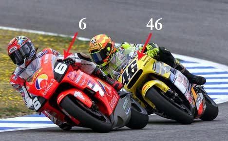 Alasan Valentino Rossi Menggunakan Nomor 46