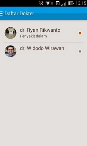ChatDoctor : Aplikasi Konsultasi Kesehatan Online
