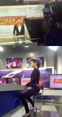 Cara Duduk Tegak Ala Pembawa Berita Di TV