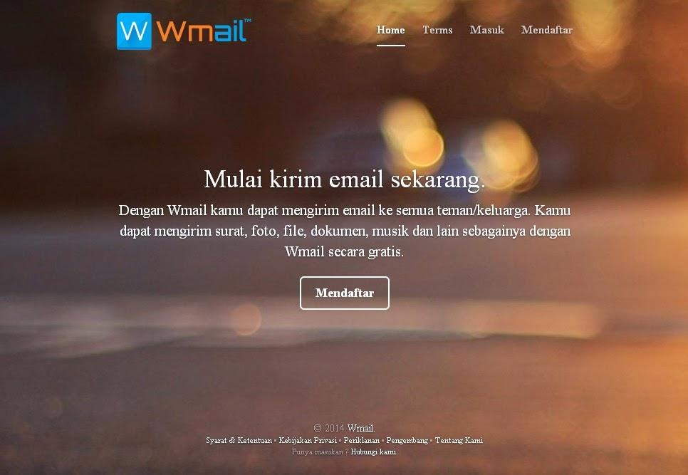 Wmail.us Layanan Email Gratis Buatan Anak Negeri