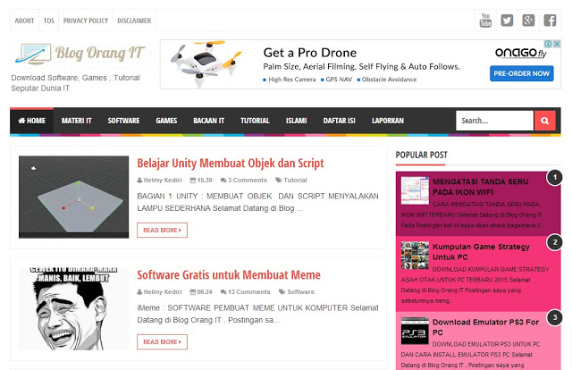 Download Software Games Tutorial Seputar Dunia IT