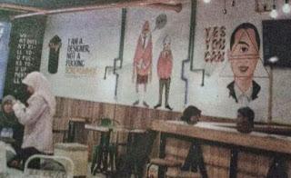 Heboh Simbol Dajjal Muncul Di Kafe Anak Jokowi