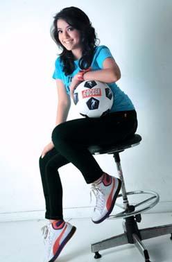 7 Pemain Bola Wanita Yang Berwajah Cantik