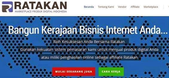 Daftar Affiliate Ratakan.com Clickbanknya Indonesia