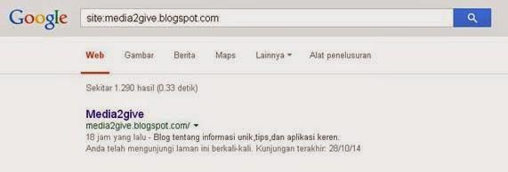 Cara Terbaru Agar Blog Cepat Terindex Google